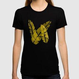 Carved Yellow&Blue Jungle #society6 #decor #buyart T-shirt