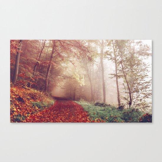 Road Less Traveled Canvas Print