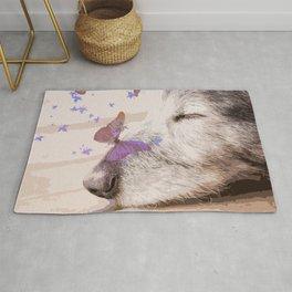Day Dreaming - Old Dog's Nap #decor #society6 #buyart Rug