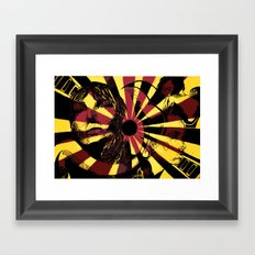 Yellow Ray Framed Art Print