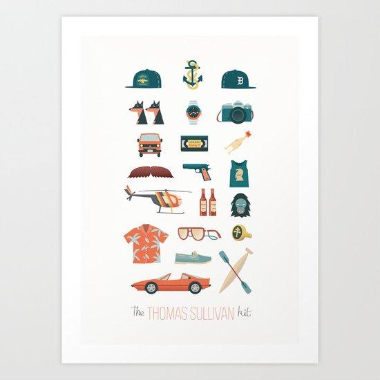 The Thomas Sullivan Kit Art Print