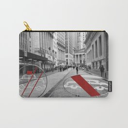Pedestrian Crossing - Downtown NYC Carry-All Pouch