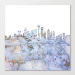 Seattle Skyline Washington Canvas Print