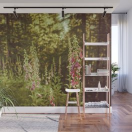 A New Day II Wildflowers at Dawn - Nature Photography Wall Mural