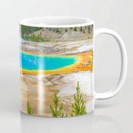 Yellowstone National Park Grand Prismatic Geyser Coffee Mug