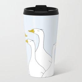 Ducks Metal Travel Mug