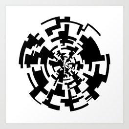 (A)MAZE(D) Art Print