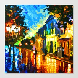 Tardis Art Alone Canvas Print