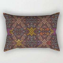 Autumn Tribal Pattern #3 Rectangular Pillow