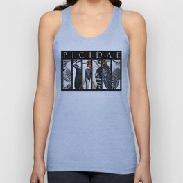 Woodpeckers of North America Unisex Tank Top