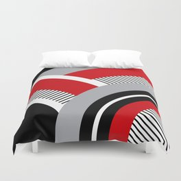 Colorful geometry 12 Duvet Cover