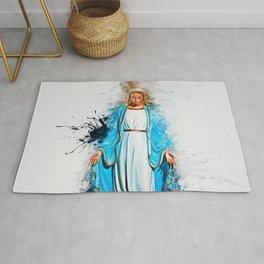 The Virgin Mary Rug