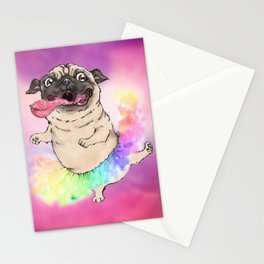 Raibow Tutu Stationery Cards