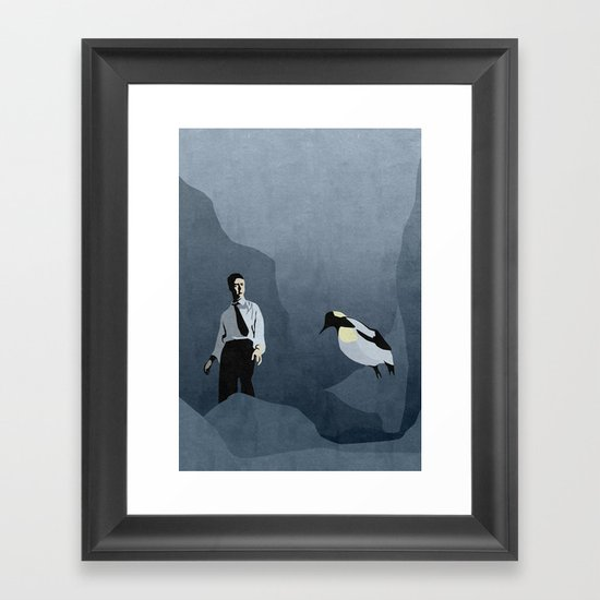 FIGHT CLUB (no title) Framed Art Print