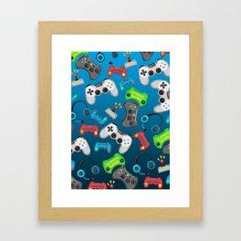 Video Games Framed Art Print