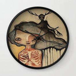 The Dark Inside Wall Clock