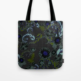 Winter Florals Tote Bag