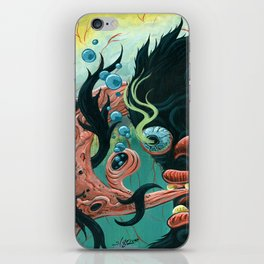 Guardian of the Bubble Pipes of Creation iPhone Skin
