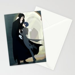 "Black Butler- ""don´t run on hallways"" Stationery Cards"