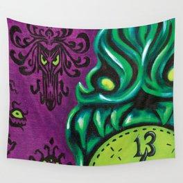 """Disneyland Haunted Mansion inspired """"Wall-To-Wall Creeps No.3""""  Wall Tapestry"""