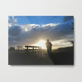 Off to an Adventure Metal Print