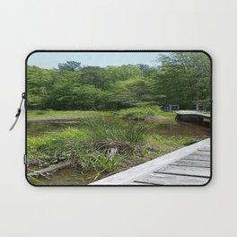 Swampy Path Laptop Sleeve