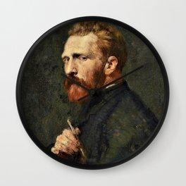 John Peter Russell - Vincent van Gogh - Digital Remastered Edition Wall Clock