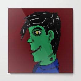 Young Franken Monster Metal Print