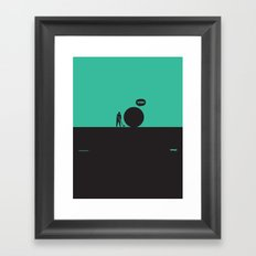 WTF? Golf Framed Art Print