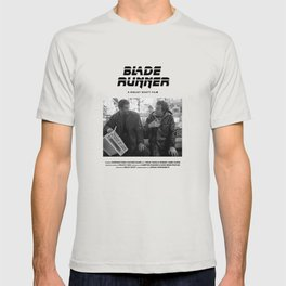 Blade Runner Behind the Scenes Movie Poster T-shirt