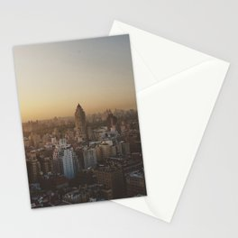 My Oh My, That City Sky Stationery Cards