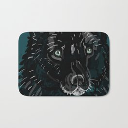 Totem Romeo the wolf Bath Mat