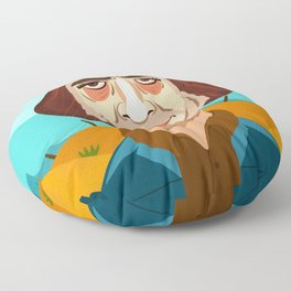 No Country For Old Men Floor Pillow