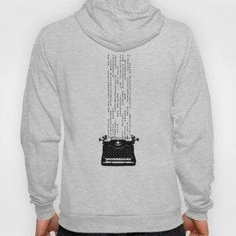Matrix Typewriter Hoody