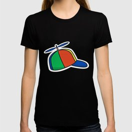 Helicopter Hat T-shirt