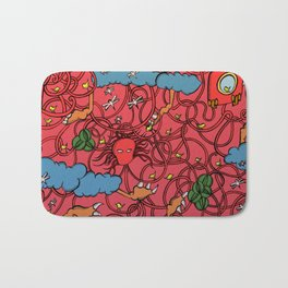 Fruits of Life Bath Mat