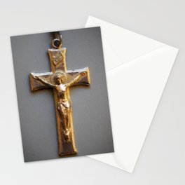 Crucifix Stationery Cards