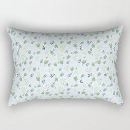 Cheerful Leaf Pattern Rectangular Pillow