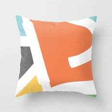In Rainbow Throw Pillow