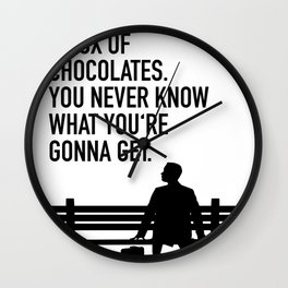 Forest Gump - movie Wall Clock