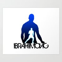 zlatan Art Prints featuring Zlatan Ibrahimovic by Sport_Designs