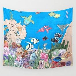 Oceaniana Wall Tapestry