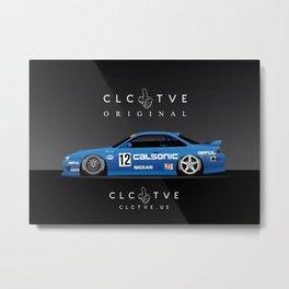 Calsonic S14 Metal Print