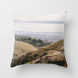 Rapaki Track Throw Pillow