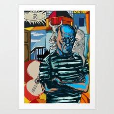 Picasso Art Print