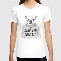 shit T-shirts featuring Same shit... by Balazs Solti
