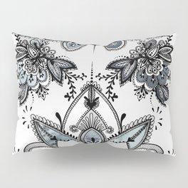 Denim Paisley Pillow Sham
