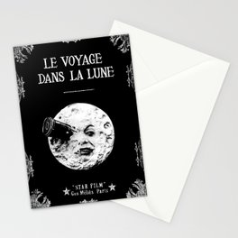 A Trip To The Moon Georges Méliès Stationery Cards