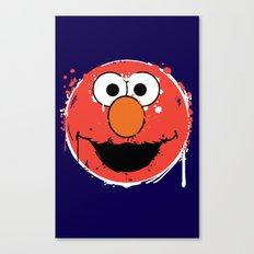 Elmo splatt Canvas Print