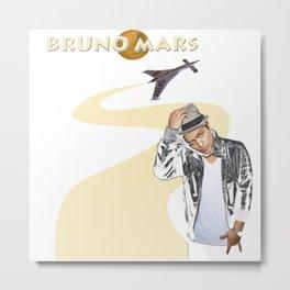 bruno hat smart Metal Print